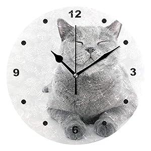 Wanduhren Küche Katze   Dein-Wohntrend.de