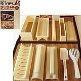 Jo's Online Store - Juego de utensilios para hacer sushi en casa (10 piezas)