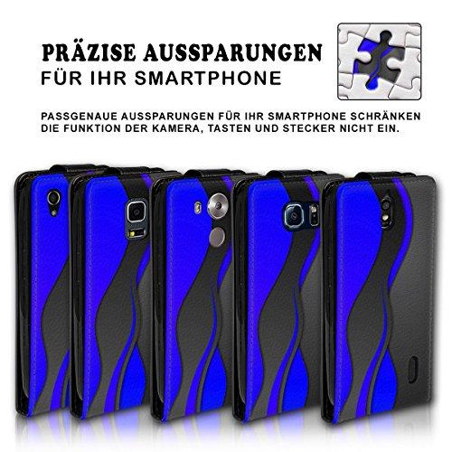 Vertical Flip Style Housse Case Étui Coque Motif cartes étui support pour Apple iPhone 6/6S–Variante ver37 Design 3