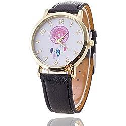 Menu Life Dreamcatcher Friendship Bracelet Watch PU Leather GENEVA Watch Ladies Quarzt Watches relogio feminino