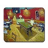 Die besten Cafe Mouse-Pads - CafePress–Vincent van Gogh Nacht Cafe–Rutschfester Gummi-Mauspad, Gaming Maus Bewertungen