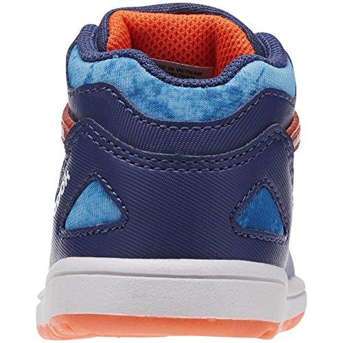 Reebok Unisex Baby Versa Pump Omni Lite Sneaker Azul / Rojo (Midnight Blue/Electric Blue/Atomic Red/W) piEPviMuC