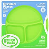 Best Green Eats - Green Eats 2 Pack Divided Plates, Green Review