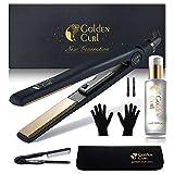 Golden Curl GL829 Fer à lisser tous types de cheveux
