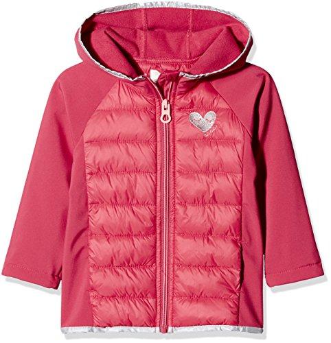 TOM TAILOR Unisex Baby Sweatshirt Jacke Pl Druck 1/1, Rot (Springtime Red 4700), 116/122