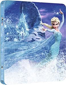 Frozen 3D Blu-ray Steelbook (Two-Disc Blu-ray / 3d + 2D) (2013) Zavvi Exclusive Limited to 4,000 copies, Region Free UK Import
