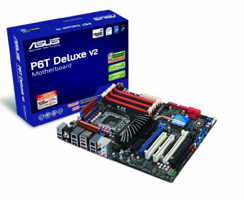 ASUS P6T DELUXE V2 Mainboard (Sockel 1366, kein on board VGA, QPI MHz FSB ATX)
