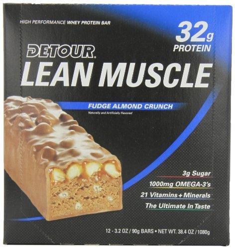 detour-lean-muscle-nutrition-bars-fudge-almond-crunch-90-gram-pack-of-12-by-detour