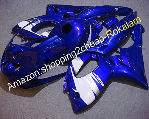 Sportbike Carénage pour Yzf600r Thundercat 97 98 99 00 01 02 03 04 05 06 07 Yzf-600r Bleu Blanc carrosserie YZF 600R