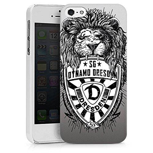 Apple iPhone 6s Plus Hülle Case Handyhülle Dynamo Dresden Fanartikel Löwe Hard Case weiß