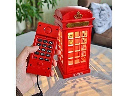 Telefon englische Telefonzelle mit Licht - Telefonzelle Telefon