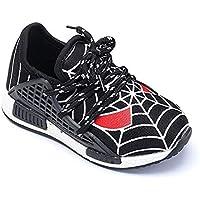 Sneakers - Enfants - Cordes - Couleur Noir - HKB-144 (Taille 25 EU c7413c8efb0