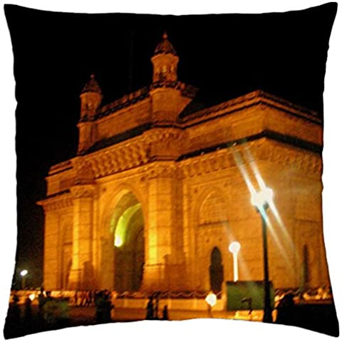 The Gateway Of India. - Throw Pillow Cover Case (18