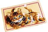 14 Model Cat Latch Hook Kit Rug Cat 563 20 by 15 Inch -