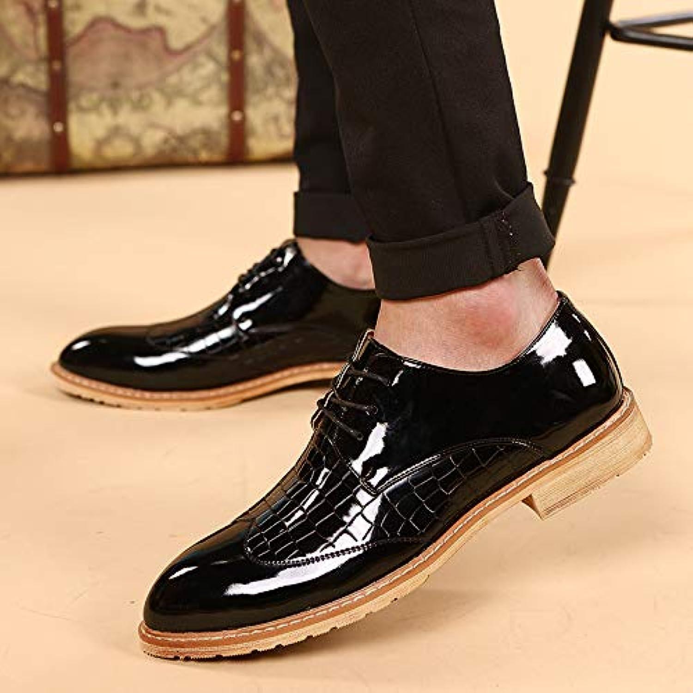 Hyldl Chaussure Chaussure Hyldl Homme Cuir Gravure Vintage Confortable Et Eacute;l eacute;gante Chaussures en Cuir - B07JWKRXL8 - bc0e41