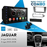 UGAR EX8 7' Android 8.1 Car Stereo Radio Plus 11-689 Fascia Kit for Jaguar X-Type...