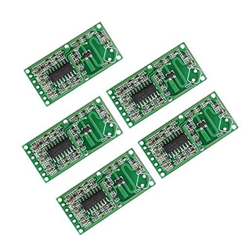 Bluelover 5 stücke RCWL-0516 4-28 V 3mA Mikrowelle Radar Sensor Menschlichen Körper Induktionsschalter Modul Bord Intelligente Induktion Detector