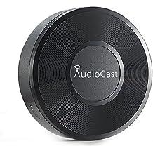 Airplay Recepteur, RIVERSONG Audiocast M5 Récepteur de musique sans fil Wifi HIFI Music Streaming Receiver DLNA Airplay Adapter Wifi Récepteur audio, sans fil Audio et musique au système de haut-parle