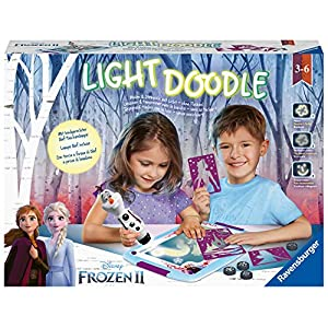 Ravensburger 4005556180868 Lightdoodle Frozen 2