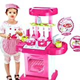 #1: Kitchen Set Kids Luxury Battery Operated Kitchen Super Toy Set, Multi Color