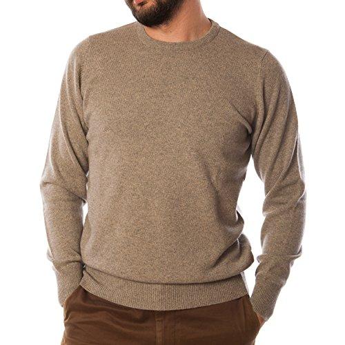 Hawick tricot Men's T-Shirt à col ras de cou Pull cachemire ORKNEY