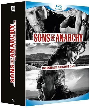 Sons of anarchy, Intégrale saisons 1 à 3 [Blu-ray] [Import italien]