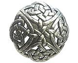 Brazil Lederwaren Gürtelschließe Keltischer Knoten 4,0 cm