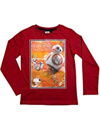 Star Wars Kollektion 2017 T-Shirt 104 110 116 122 128 134 140 146 Shirt Stormtrooper Neu Yoda Darth Vader BB8 Rot