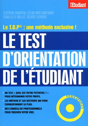 LE TEST D'ORIENTATION DE L'ETUDIANT