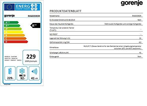 Gorenje RK 60359 OR Kühl-Gefrier-Kombination - 3