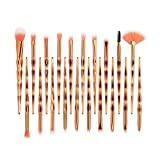 Make Up Pinsel Set 20pcs Pinsel Schminkpinsel Kosmetikpinsel Lidschatten Gesichtspinsel Foundation Eyeliner Pinsel(B)