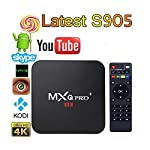 This MXQ Pro+ TV Box is equipped with Amlogic S905 quad-core CPU and Mali-450 GPU. It is a multimedia center which enables you to have the absolute best and most versatile home media experience. It will let you enjoy plenty of HD movies, TV dramas an...