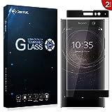 Verre Trempé Sony Xperia XA2, RIFFUE [Lot de 2][Couverture complète] 3D Integralé Film Protection écran Glass Screen pour Sony Xperia XA2,0.33mm Ultra HD,Dureté 9H - Noir
