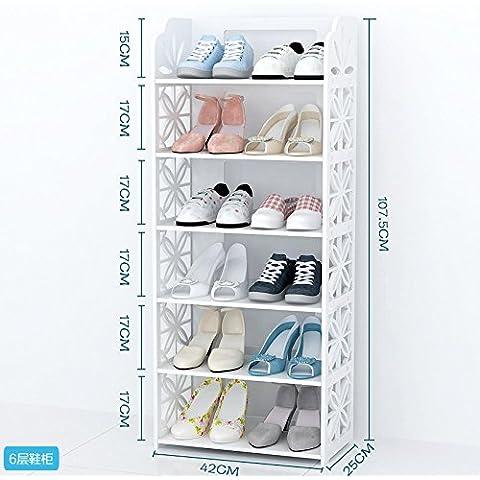 Europeo stile semplice scarpe rack scaffali mensole soggiorno camera da
