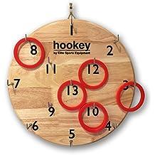 Elite Sportz Hookey Toss, un regalo que toda la familia le encantará jugar en cualquier reunión. Su robusto, más seguro que los dardos y puede colgar en cualquier habitación u oficina. Para todas las edades