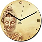 2 O Clock Lord Buddha Printed Analog Wal...
