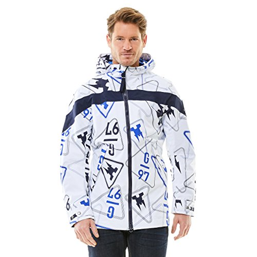 GAASTRA Herren Jacke Rainjacket Men Weiß