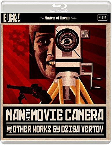 Preisvergleich Produktbild Man with a Movie Camera (and other works by Dziga Vertov) (1929) [Masters of Cinema] 2-Disc Blu-ray edition [UK Import]