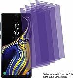 4X ANTIREFLEX Matt Schutzfolie für Samsung Galaxy Note 9 Displayschutzfolie Bildschirmschutzfolie Schutzhülle Displayschutz Displayfolie Folie