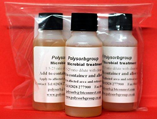 3x Öl Flecken POLYSORB mikrobiellen Bereinigung Behandlungen (öl-bereinigung)