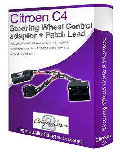 Adaptador para radio de coche Citroën, conecta los controles del volante