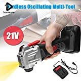 CYS Multifunction Cordless Oscillating Tool Kit Rechargeble Electric Trimmer Sander Multi-Tool