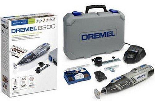 DREMEL 8200-2/45 - MULTIHERRAMIENTA (10 8 V  2 COMPLEMENTOS  45 ACCESORIOS CON BATERIA LI-ION)