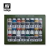 Vallejo 070110 Farbset, Napoleonische Kriege, 16 x 17 ml