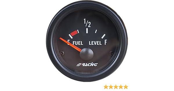 Nero Simoni Racing FL//B Indicatore Elettronico Livello Carburante