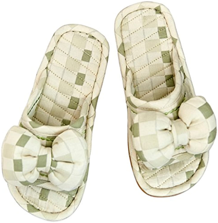 Algodón Zapatillas de casa Mujer Piso de Madera Interior de Verano Suelo Inferior Suave Dormitorio Lavable Antideslizante...