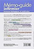 Image de Mémo-guide infirmier - UE 2.1 à 2.11: Sciences biologiques et médicales