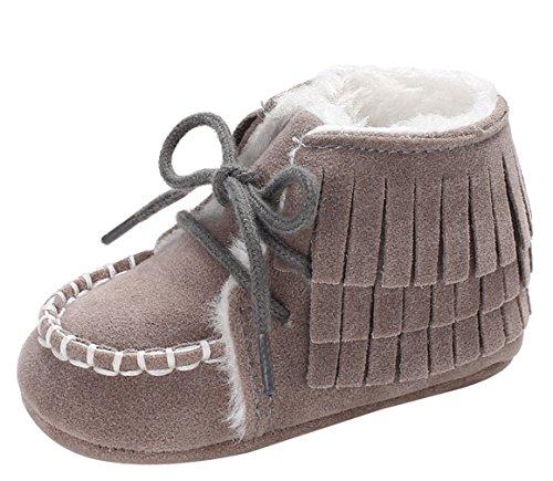 01726c89b8554 Y-BOA Chaussure Chausson Bottines De Neige Fourrure Boots Ski Infantile Bébé  Fille Garçon Toddler