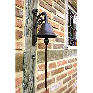 Antikas – Bells – Beautiful Garden Bell Apart At The Front Antique and with sound