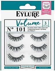 c0c1bde133e Eylure Strip False Lashes No.101 (Volume) Multipack Pack Of 3